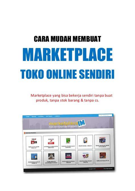 cara membuat website toko online dengan wordpress cara mudah membuat marketplace toko online sendiri