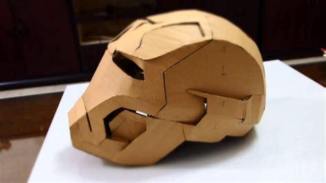 tutorial    cardboard iron man helmet