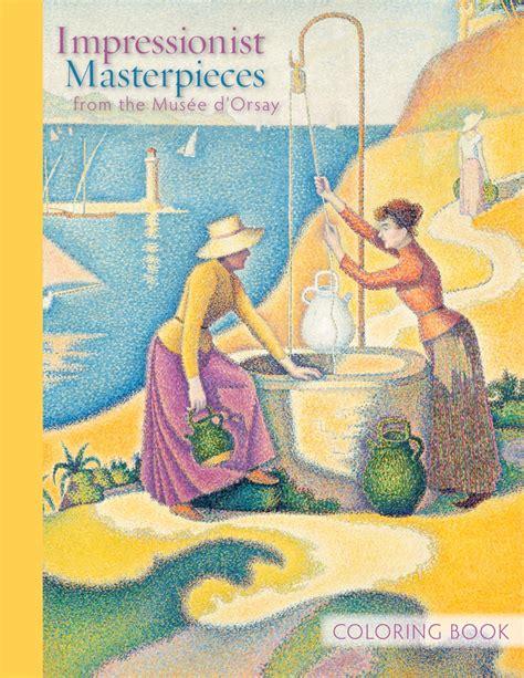Impressionist Coloring Book