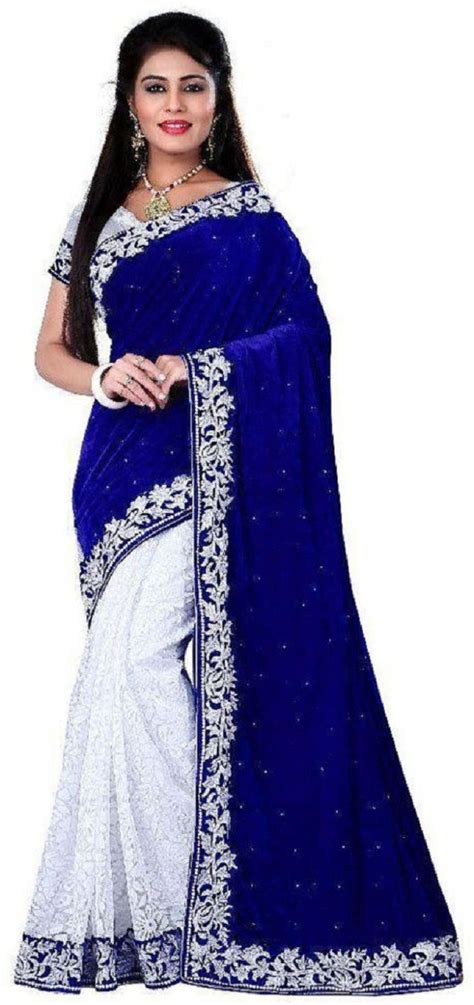 Sale Sari Kurma Almadinah Original flipkart googlee self design embellished velvet net kota cotton saree of rs 2999