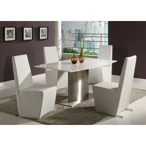 chyntia set chintaly cynthia 5 modern dining table set dining