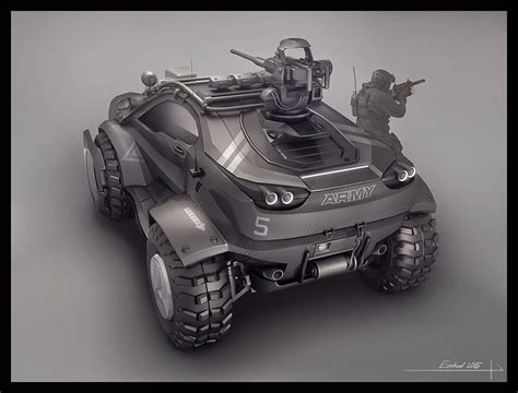 modern army vehicles concept design for a modern military vehicle polycount