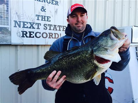 Tennessee Records New Largemouth Bass Fishing Record Confirmed By Twra Chattanoogan