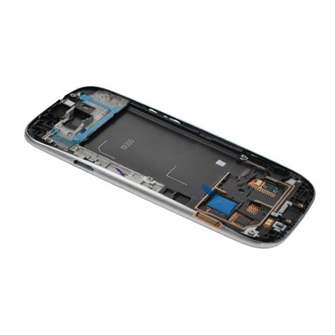 Touscreen Advan S3 Lite Ready samsung galaxy s3 i9300 front cover lcd display grey