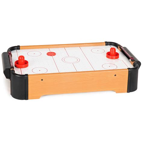 aww cool toys 22 034 air hockey wooden tabletop classic