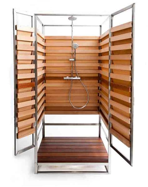 Interior Design Small Spaces by Stylish Outdoor Showers For Small Urban Spaces Too Urban