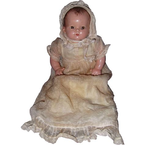 composition ideal doll factory ideal plassie transitional composition baby doll