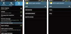galaxy note 4 block text messages mms sms blocking unblocking spam messages on samsung galaxy note 3