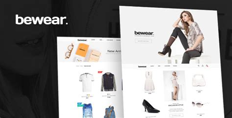 shopify themes lookbook bewear lookbook fashion ecommerce html template by