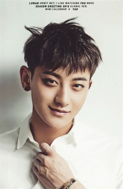 biography of exo tao tao 141219 2015 season s greetings official photocard