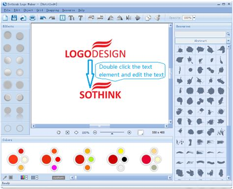 edit logo text logo maker guides how to make stationery with logo in
