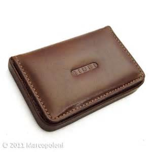 leather business card holder leather business card card holder tessera by giudi