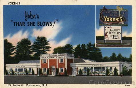 Portsmouth Restaurant Gift Card - yoken s restaurant portsmouth nh postcard