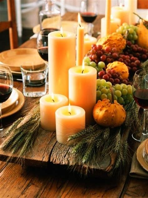 Thanksgiving Buffet Table Setting Ideas 30 Thanksgiving Decor Ideas