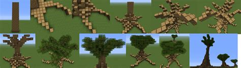 how to make a big tree how to build large trees in minecraft minecraft guides