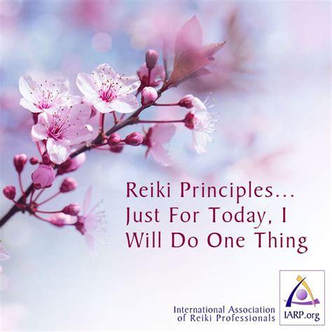 reiki principles   today