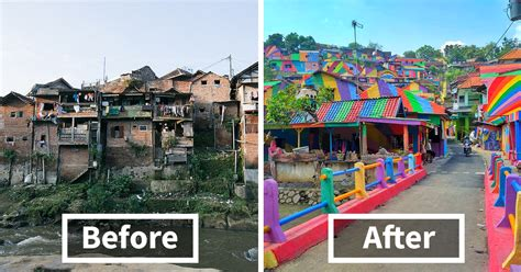 fb indonesia rainbow village indonesian government invests 22 467 to