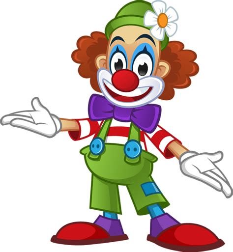 colored clown clown colored png transparent dessin couleur clown