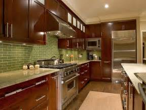 image kitchen mahogany wood cabinets