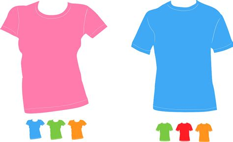 Transparent Basic T Shirt Baby Blue free vector graphic shirts t shirts colorful bright free image on pixabay 159567