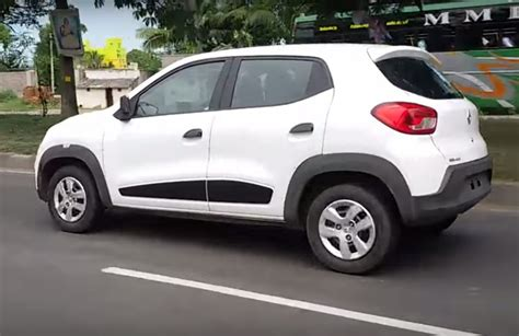 renault kwid on road price diesel renault kwid to have a road presence better than the rest