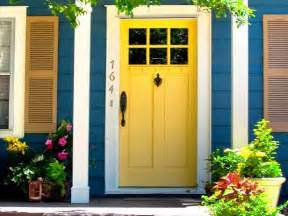 Painting Shutters And Front Door Perrett Real Estate Design Diy Instant Curb Appeal For 100