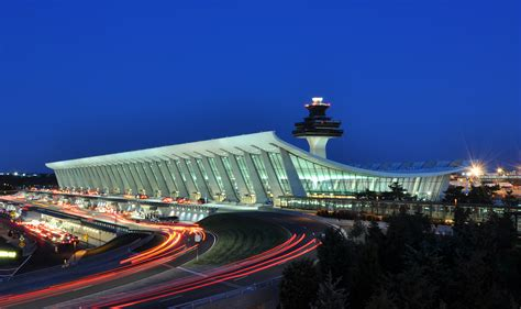file washington dulles international airport at dusk jpg