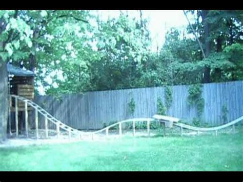 backyard pvc roller coaster backyard homemade pvc roller coaster thrillium