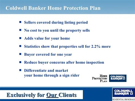 coldwell banker home protection plan kim carpenter power marketing proposal