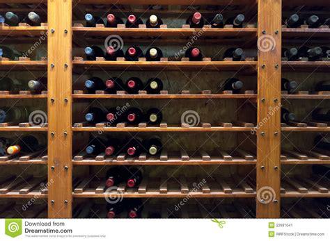 wine bottles on shelf stock image image 22681041