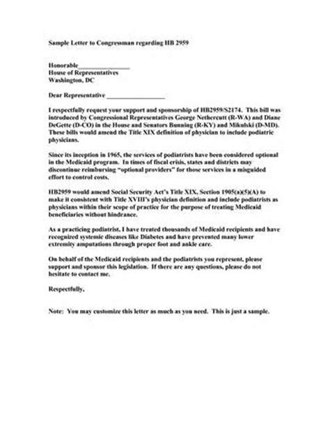 letter to a congressman template 28 images join our