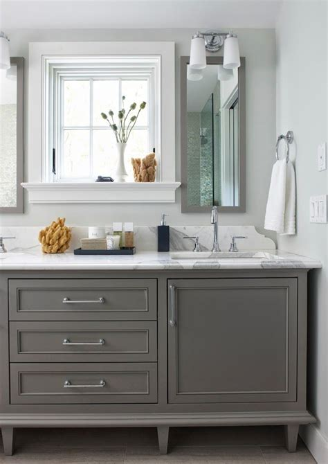 painting bathroom cabinets color ideas cabinets benjamin moore boothbay gray hc 165 paint