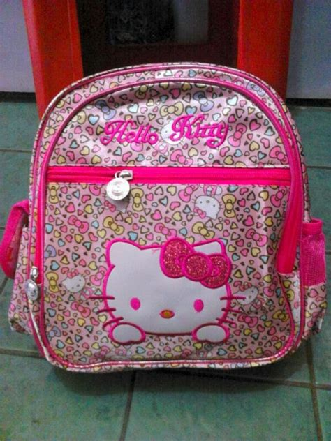 Tas Sekolah Anak Model Ransel Warna Pink Plus Boneka model tas sekolah anak perempuan