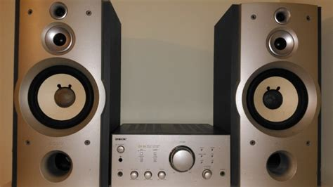 Speaker Mini Compo sony mini hi fi component system ex66 and speakers for
