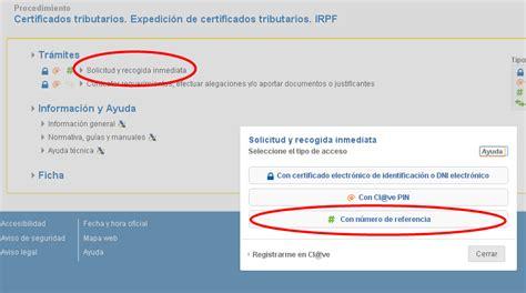 certificado de imputaciones del 2015 certificado de imputaciones de irpf 2015 certificado de