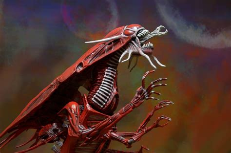 Wholesale Giftware And Home Decor Closer Look Aliens Genocide Red Queen Mother Ultra Deluxe
