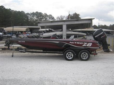 used nitro bass boats for sale in arkansas nitro z 8 boats for sale boats