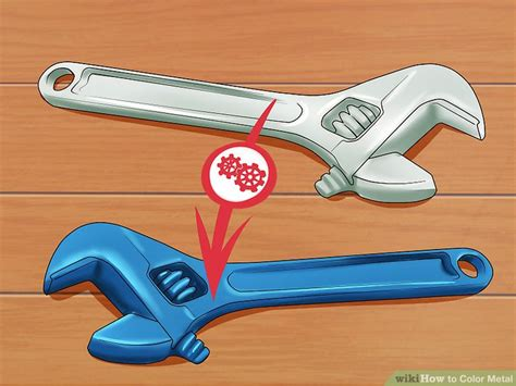 how to color metal 4 ways to color metal wikihow
