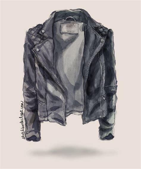 Jaket Gloria Ripped leather jacket drawing www imgkid the image kid