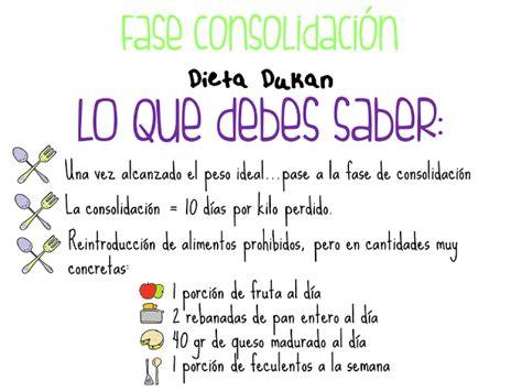 alimentos primera fase dieta dukan dieta dukan fase de consolidaci 243 n lo que debes saber