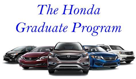 Honda Graduate Program Criteria by Honda Graduate Program Honda Dealer Near Boston Ma