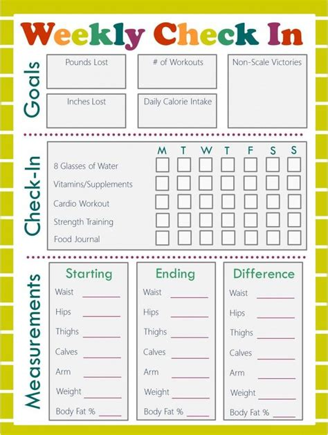 weight loss smart printable fitness planner 43 best workout planner images on pinterest fitness