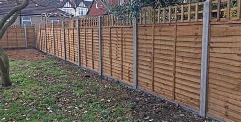 Garden Fencing Ideas Uk Wooden Garden Fencing Ideas Panels Panel Tops Posts