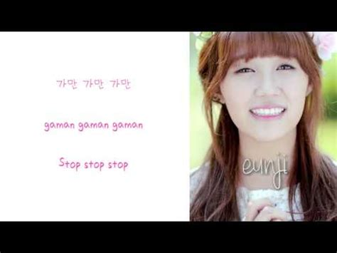 apink sunday monday rom eng color coded lyric apink dejavu eng rom han picture color coded hd doovi