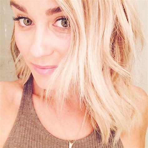 latest hairstyles on instagram lauren conrad debuts short hairdo