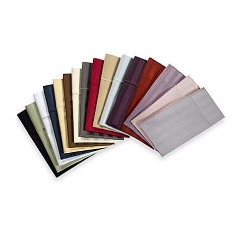 wamsutta 174 500 damask stripe sheet set bedbathandbeyond com