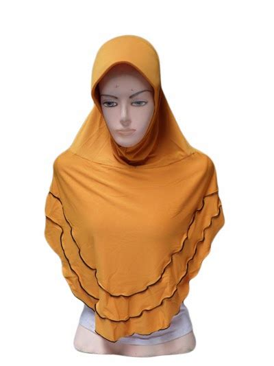 Jilbab Segiempat Rempel Melati zahra oval neci toko jilbab grosir jilbab murah