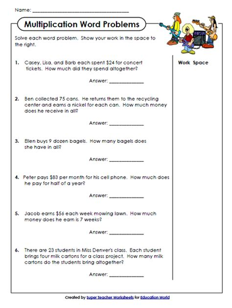 printable multiplication problem solving worksheets maths word problems year 4 pdf fraction word problems
