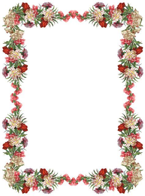 frame design bg free digital vintage flower frame and border