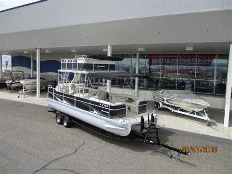 upper boat car dealers tritoon upper deck boats for sale